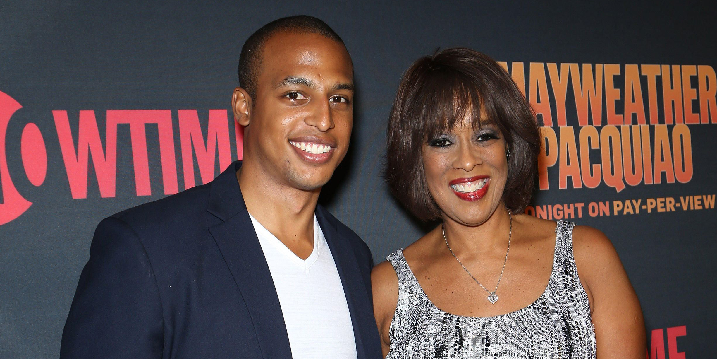 Gayle King with Single